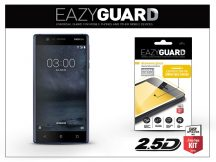 Nokia 3 gyémántüveg képernyővédő fólia - Diamond Glass 2.5D Fullcover - fekete