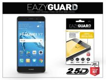 Huawei Y7/Y7 Prime gyémántüveg képernyővédő fólia - Diamond Glass 2.5D Fullcover - fekete