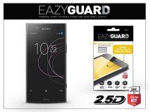 Sony Xperia XZ1 Compact (G8441) gyémántüveg képernyővédő fólia - Diamond Glass 2.5D Fullcover - fekete