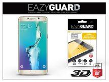 Samsung SM-G925 Galaxy S6 Edge gyémántüveg képernyővédő fólia - Diamond Glass 3D Fullcover - gold