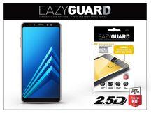 Samsung A730F Galaxy A8 Plus (2018) gyémántüveg képernyővédő fólia - Diamond Glass 2.5D Fullcover - fekete