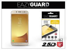Samsung J730F Galaxy J7 (2017) gyémántüveg képernyővédő fólia - Diamond Glass 2.5D Fullcover - gold