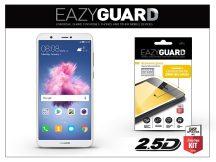 Huawei P Smart gyémántüveg képernyővédő fólia - Diamond Glass 2.5D Fullcover - fehér