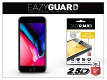 Apple iPhone 8 gyémántüveg képernyővédő fólia - Diamond Glass 2.5D Fullcover - fekete
