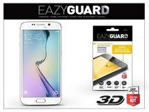 Samsung SM-G925 Galaxy S6 Edge gyémántüveg képernyővédő fólia - Diamond Glass 3D Fullcover - fehér