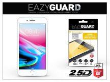 Apple iPhone 8 gyémántüveg képernyővédő fólia - Diamond Glass 2.5D Fullcover - fehér