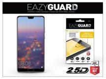 Huawei P20 gyémántüveg képernyővédő fólia - Diamond Glass 2.5D Fullcover - fekete