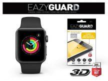 Apple Watch Series 3 (38 mm) gyémántüveg képernyővédő fólia - Diamond Glass 3D Fullcover - fekete