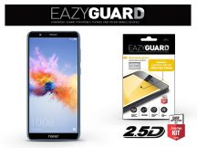 Huawei/Honor 7X gyémántüveg képernyővédő fólia - Diamond Glass 2.5D Fullcover - fekete