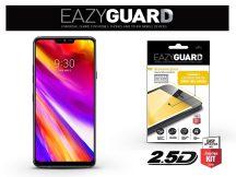 LG G7 ThinQ G710 gyémántüveg képernyővédő fólia - Diamond Glass 2.5D Fullcover - fekete