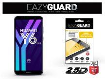 Huawei Y6 (2018)/Y6 Prime (2018) gyémántüveg képernyővédő fólia - Diamond Glass 2.5D Fullcover - fekete