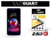 LG K11/K10 (2018) gyémántüveg képernyővédő fólia - Diamond Glass 2.5D Fullcover - fekete