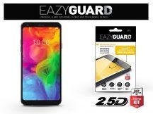 LG Q7 Q610/Q7+ gyémántüveg képernyővédő fólia - Diamond Glass 2.5D Fullcover - fekete