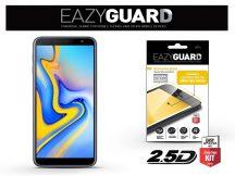 Samsung J415F Galaxy J4 Plus/J610F Galaxy J6 Plus gyémántüveg képernyővédő fólia - Diamond Glass 2.5D Fullcover - fekete