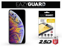 Apple iPhone X/XS gyémántüveg képernyővédő fólia - Diamond Glass 2.5D Fullcover - fekete
