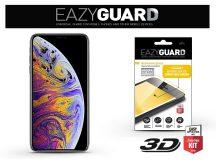 Apple iPhone XS Max gyémántüveg képernyővédő fólia - Diamond Glass 3D Fullcover - fekete