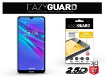 Huawei Y6 (2019)/Honor 8A gyémántüveg képernyővédő fólia - Diamond Glass 2.5D Fullcover - fekete