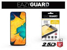 Samsung A305F Galaxy A30/A20/A50/M30 gyémántüveg képernyővédő fólia - Diamond Glass 2.5D Fullcover - fekete