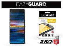 Sony Xperia 10 Plus (L3213/L3223/L4213/L4293) gyémántüveg képernyővédő fólia - Diamond Glass 2.5D Fullcover - fekete