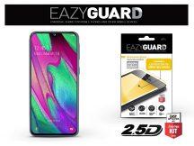Samsung A405F Galaxy A40 gyémántüveg képernyővédő fólia - Diamond Glass 2.5D Fullcover - fekete