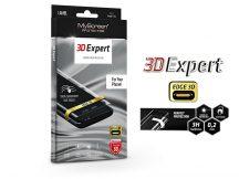 Apple iPhone XR hajlított képernyővédő fólia - MyScreen Protector 3D Expert Full Screen 0.2 mm - transparent