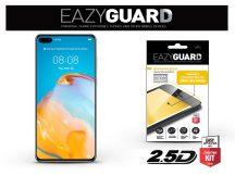 Huawei P40 gyémántüveg képernyővédő fólia - Diamond Glass 2.5D Fullcover - fekete
