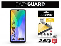 Huawei Y6p/Honor 9A gyémántüveg képernyővédő fólia - Diamond Glass 2.5D Fullcover - fekete