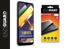 LG K22 LM-K200E gyémántüveg képernyővédő fólia - Diamond Glass 2.5D Fullcover - fekete