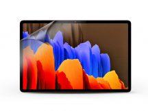 Samsung T970/T976B Galaxy Tab S7+/T730/T736B Galaxy Tab S7 FE 12.4 képernyővédő fólia - 1 db/csomag - Crystal Shield BacteriaFree - ECO csomagolás
