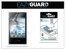 LG Optimus L3 E400 képernyővédő fólia - 2 db/csomag (Crystal/Antireflex)
