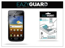 Samsung i8150 Galaxy W képernyővédő fólia - 2 db/csomag (Crystal/Antireflex)