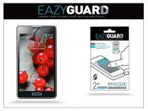 LG P710 Optimus L7 II képernyővédő fólia - 2 db/csomag (Crystal/Antireflex)