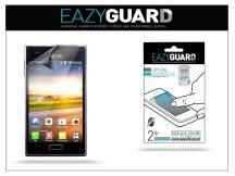 LG E610 Optimus L5 képernyővédő fólia - 2 db/csomag (Crystal/Antireflex)