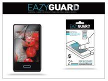 LG E430 Optimus L3 II képernyővédő fólia - 2 db/csomag (Crystal/Antireflex)