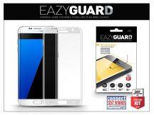 Samsung G935F Galaxy S7 Edge gyémántüveg képernyővédő fólia - 1 db/csomag (Diamond Glass) - silver - FULL teljes képernyős