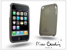 Apple iPhone 3G/3GS szilikon hátlap - fekete