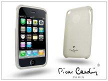 Apple iPhone 3G/3GS szilikon hátlap - fehér