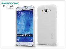 Samsung SM-J700F Galaxy J7 hátlap képernyővédő fóliával - Nillkin Frosted Shield - fehér