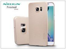 Samsung SM-G928 Galaxy S6 Edge+ hátlap képernyővédő fóliával - Nillkin Frosted Shield - golden