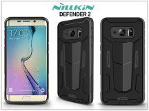 Samsung SM-G928 Galaxy Edge+ ütésálló védőtok - Nillkin Defender 2 - fekete