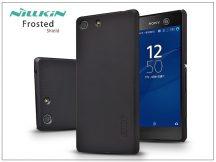 Sony Xperia M5 (E5603/E5606/E5653) hátlap képernyővédő fóliával - Nillkin Frosted Shield - fekete