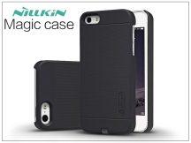 Apple iPhone 5/5S/SE hátlap beépített Qi adapterrel, vezeték nélküli töltő állomáshoz - Nillkin Magic Case - fekete
