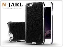 Apple iPhone 6/6S hátlap beépített Qi adapterrel, vezeték nélküli töltő állomáshoz  - Nillkin N-Jarl Magic Case - fekete