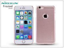 Apple iPhone 6/6S hátlap képernyővédő fóliával - Nillkin Frosted Shield - rose golden