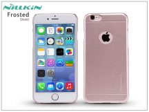 Apple iPhone 6/6S hátlap képernyővédő fóliával - Nillkin Frosted Shield - rose golden