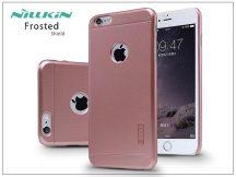 Apple iPhone 6 Plus/6S Plus hátlap képernyővédő fóliával - Nillkin Frosted Shield - rose golden