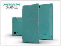 Sony Xperia Z5 (E6653) oldalra nyíló flipes tok - Nillkin Sparkle - kék