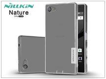Sony Xperia Z5 Compact (E5803) szilikon hátlap - Nillkin Nature - transparent