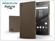 Sony Xperia Z5 Premium (E6853) szilikon hátlap - Nillkin Nature - aranybarna