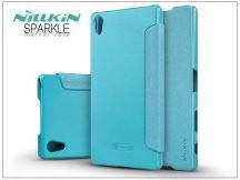 Sony Xperia Z5 Premium (E6853) oldalra nyíló flipes tok - Nillkin Sparkle - kék